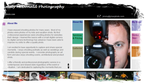 New Photography Website
