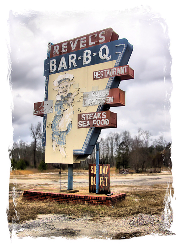 Revel S Bar B Q That Was Located On Highway 74 Has Been Demolished To Make Way For The New 1 Byp Restaurant Once A Place Local